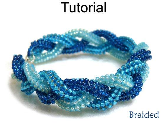 Beading tutorial pattern tubular herringbone stitch for Simple beaded jewelry patterns