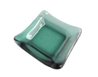 Sushi Plate - Soy Sauce Dish -  Glass Dish - Kitchen Decor