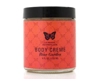 Rose Garden Body Creme 4oz.