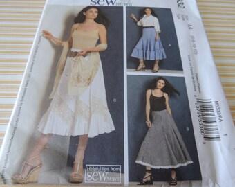 McCalls 5332  Skirt Pattern 6-12 Uncut
