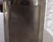 Vintage Sheffield Flask with Engraving ASR or ARS