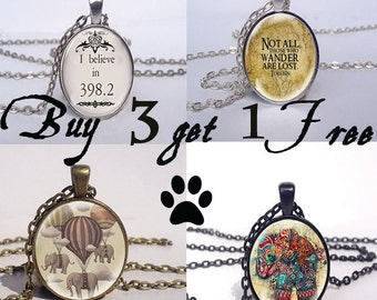 Necklace Sale Buy 3 Pendants Get One Free Jewelry Charms