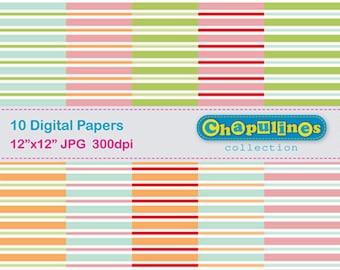 60% off Digital Paper - Lines - 01