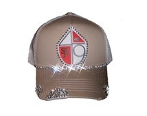 San Francisco 49ers bling football hat