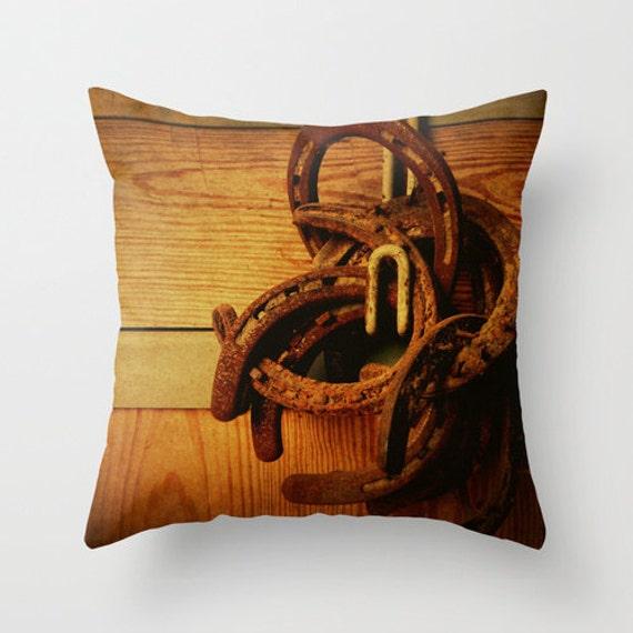 Decorative Horse Pillows : Equestrian Horse Photo pillow Home Decor Decorative Throw