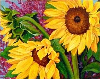 Sunflowers of Summer