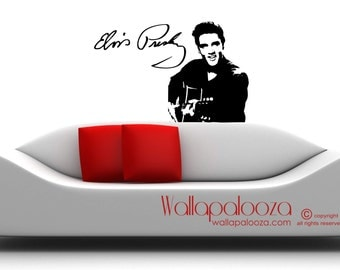 Elvis Wall Decal - Elvis Presley Wall Art