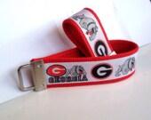 Georgia Bulldogs inspired key fob w/ FREE MINI