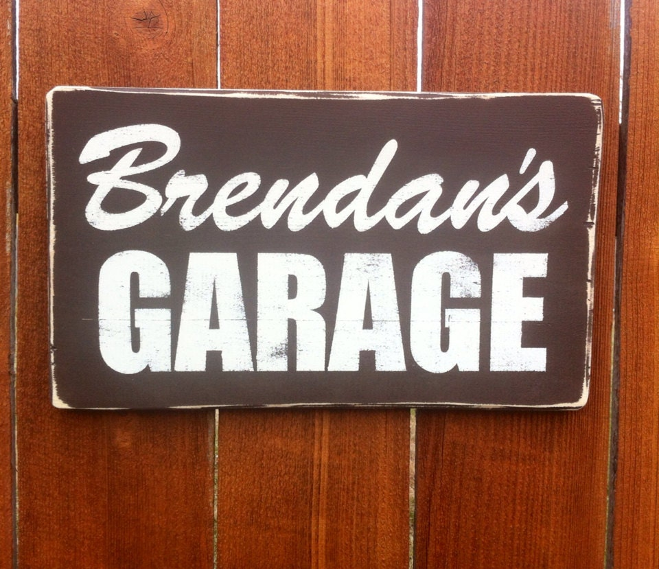 Man Cave Garage Signs : Unavailable listing on etsy