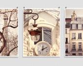 Any Three 8x10 Prints - Save 20%,Set of three,Fine Art Photography,Paris photography,Paris decor,Italy photography,Love,France