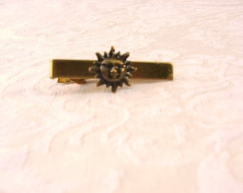 Sun Tie Clip / 2 Styles / Listing for 1 / Tie Bar / Men's jewelry / teen jewelry / jewelry / men