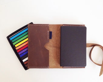 Notebook Cover w/ Field Notes Memo Book