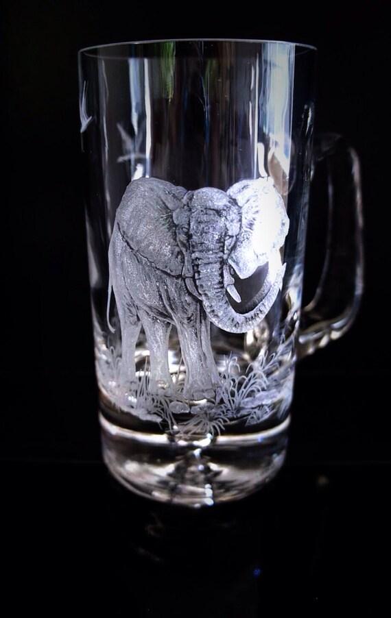 Elephant Tankard By Akokoart On Etsy