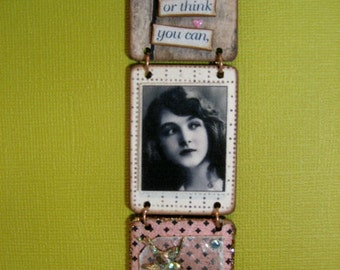Think You Can- Triptych Wall Adornment