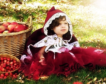 Little Red Riding Hood Costume with Cape