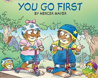 You Go First Personalized & autographed by Mercer Mayer - Free shipping