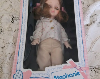 Stephanie 12 Inch Doll Playmates 1979 Boxed