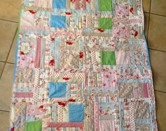 Ali's Weekend Jelly Roll Scrap Quilt *Pattern*