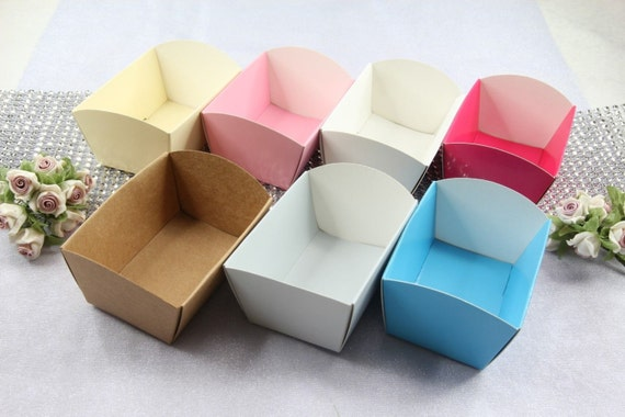 Mini Paper Candy Cup : Ea mini paper candy cups cookie nut tray holders party