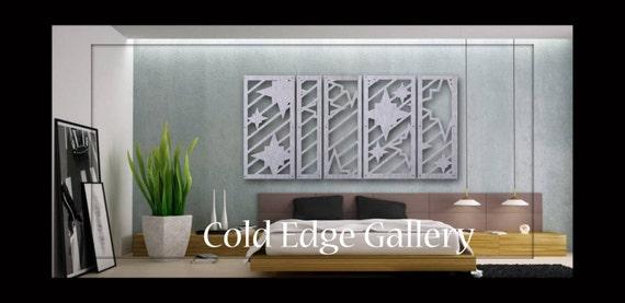 Metal Wall Decor For Bedroom : Bedroom wall art metal decor abstract