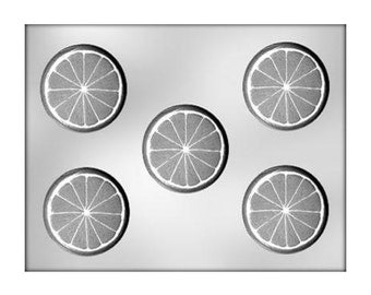 Citrus Slice Chocolate Mold - Candy Making - Party Supplies