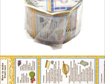 MT Recipe Washi Tape