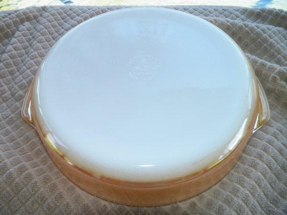 Fire King Cake Pan Vintage  Inch