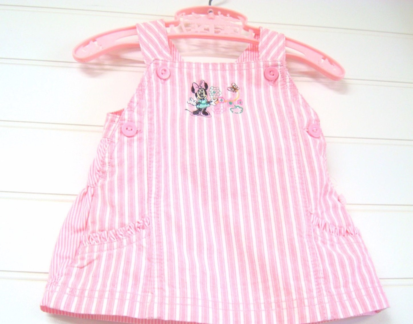 vintage baby clothes baby dress jumper by onceuponadaizy