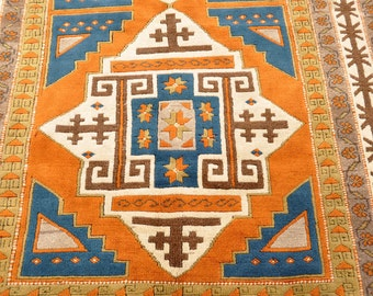 Turkish Village Double Medallion Rug -- 8 ft. by 5 ft.
