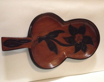 Wooden Floral Tray