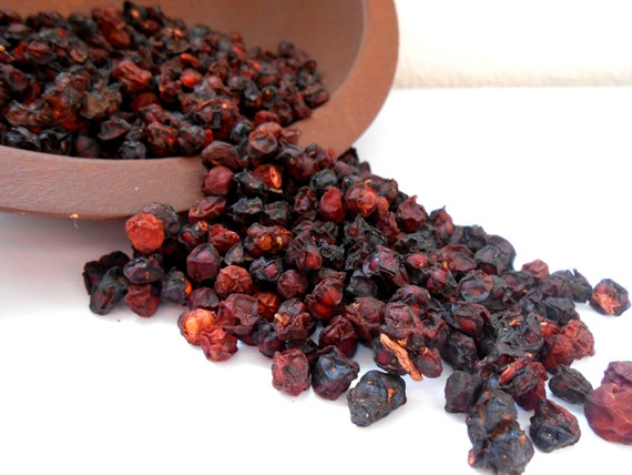 dried organic schisandra berries by forestofwildfruits on etsy. Black Bedroom Furniture Sets. Home Design Ideas