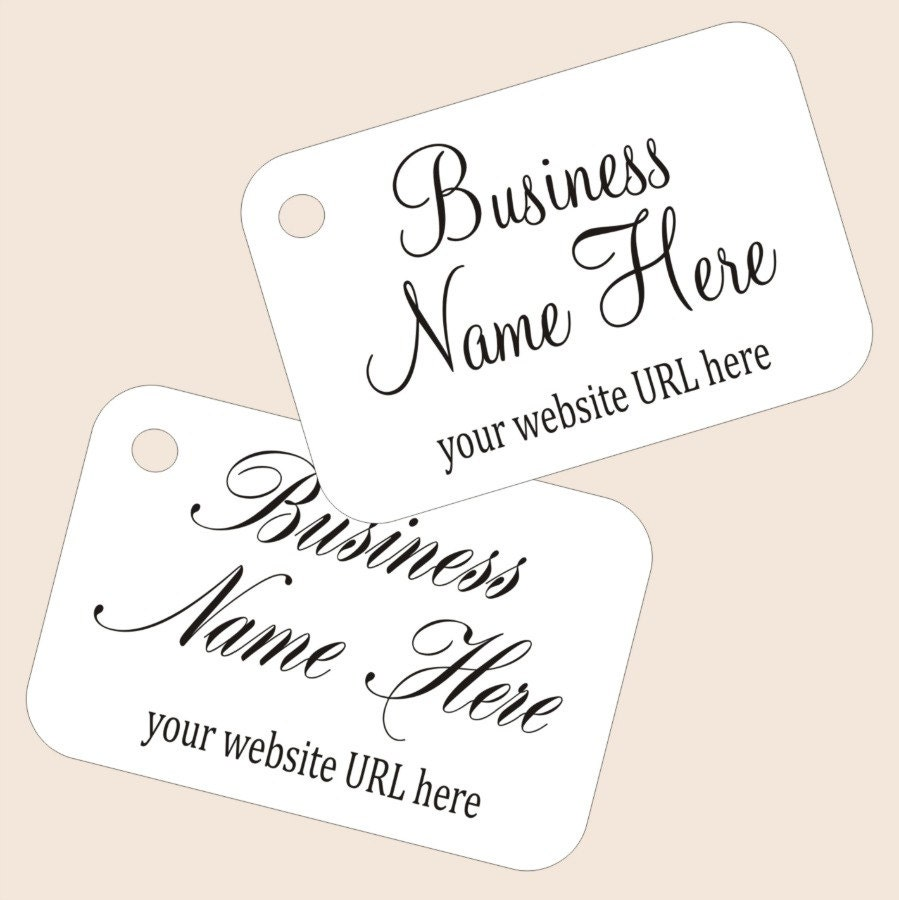 Small Custom Printed Price Tags For Your Jewelry Or Small