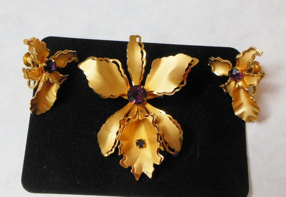 Bugbee niles jewelry signed brooch earrings set fabulous for Bugbee and niles jewelry