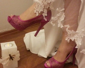 Wedding shoes, Bridal shoes #86S