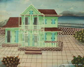 Haitian Painting  By Baret