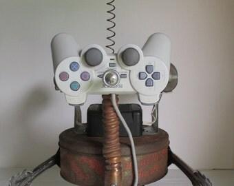 CATNIP- Found object robot sculpture~assemblage