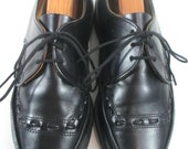RESERVED FOR CHANTAL-Vintage Black Leather Doc Martens 6-6.5