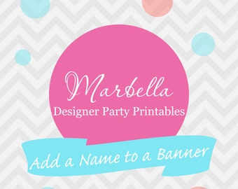 Add a Name To Any Existing Banner in My Shoppe