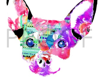 Chihuahua || Joaquin the Chihuahua || Dog Art || Chihuahua Art