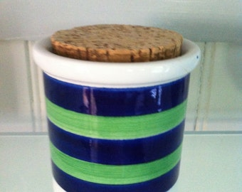 Vintage Cork Jar MCM Sweden Rorstrand Marianne Westman