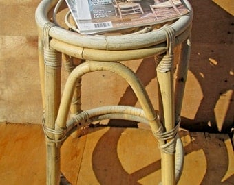 rustic stool, bedside table, mix and match your kitchen stools or have as room featurel