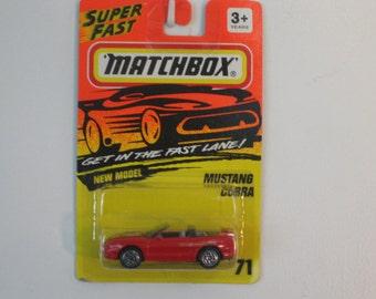 Matchbox Mustang Cobra Convertible  1994 Release