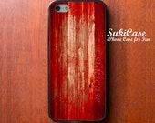 IPHONE 5S CASE Scary Red Wood Blood Horror iPhone Case iPhone 5 Case iPhone 4 Case Samsung Galaxy S4 S3 Cover iPhone 5c iPhone 4s cases - SukiCase