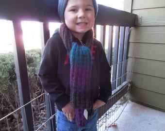 Fall Rainbow 52' scarf.