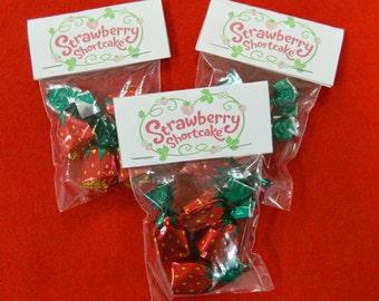 Strawberry Shortcake Candies Goodie Bags