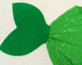 Green Mermaid Tail Costume