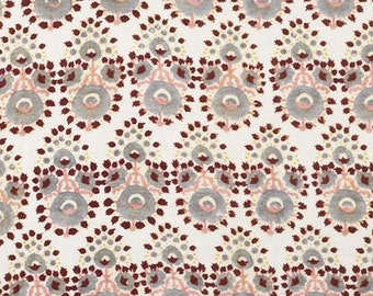 "Drapery Panels handmade using John Robshaw Collection hand blocked Fabric ""Lanka"""