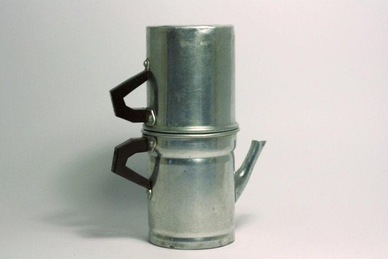 Italian Coffee makerVintage Neapolitan coffee makeraluminum