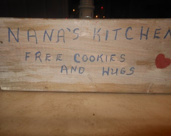 Nana's Kitchen  Free Cookies and Hugs