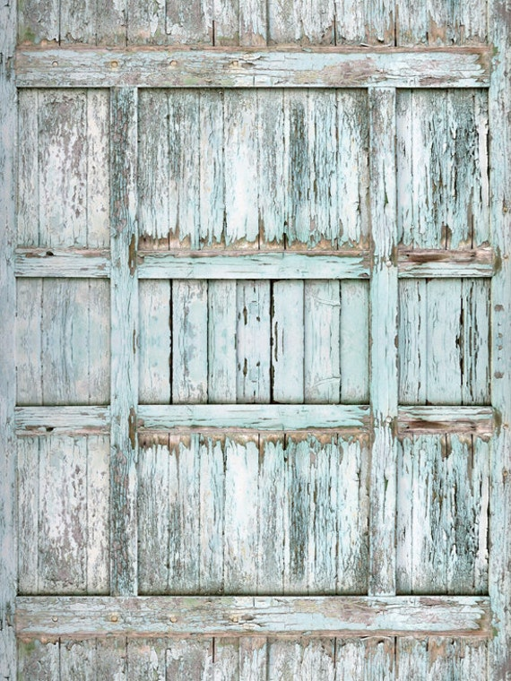Vintage Look Barn Door Photography Backdrop By